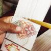 オンライン:カード織りの帯 with ブータンの織名人ジャンベさん