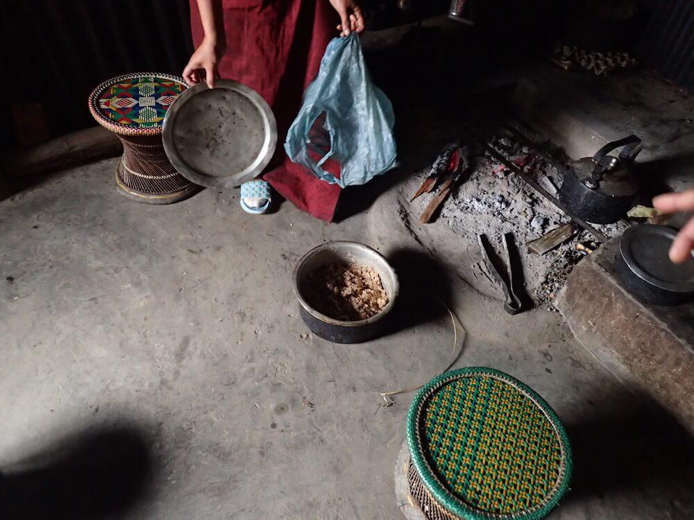 アンガミの納豆