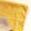 【染色遊び】綿のタオルが山吹色!玉ねぎの皮、捨てたもんじゃない